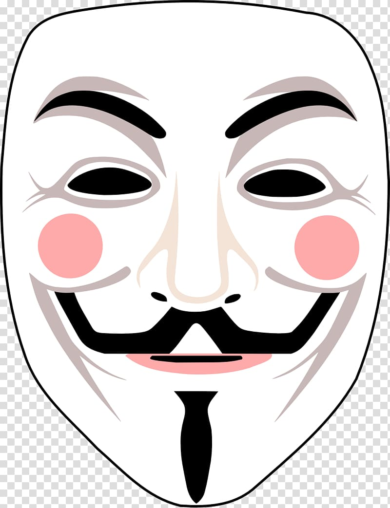 Fawkes clipart vector transparent Gunpowder Plot Guy Fawkes mask Anonymous V for Vendetta, anonymous ... vector transparent