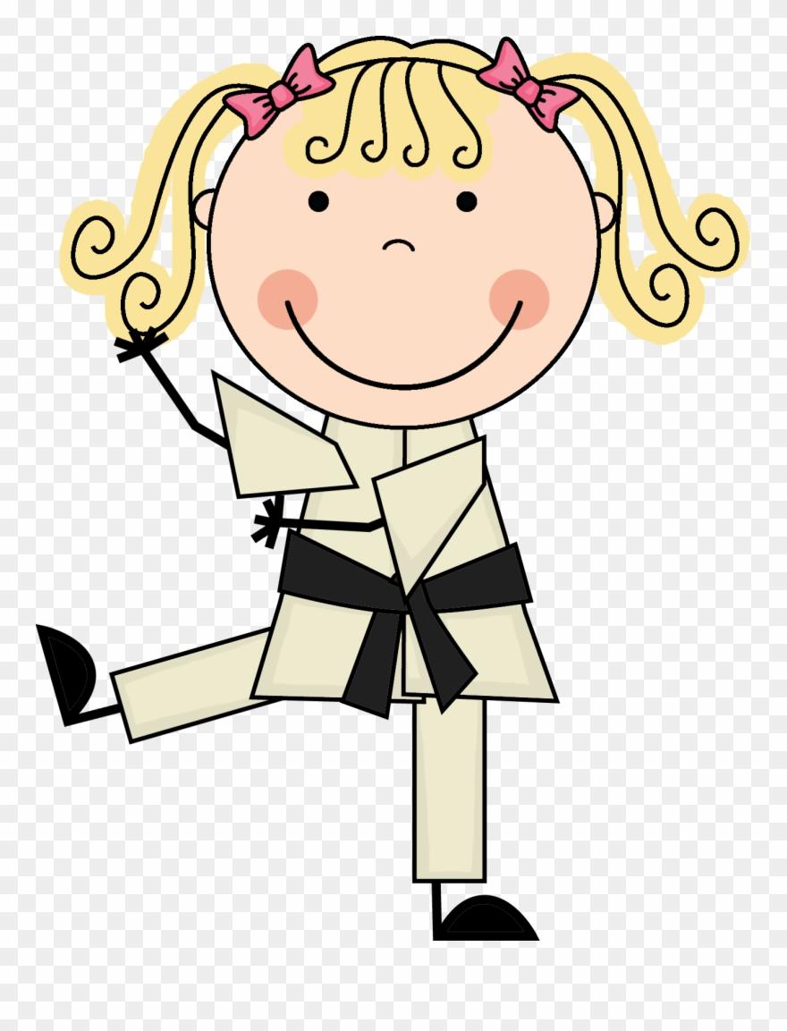 Anonomous kid clipart vector transparent stock Korean Clipart Kid Martial Art - Clip Art Girl Writing - Png ... vector transparent stock