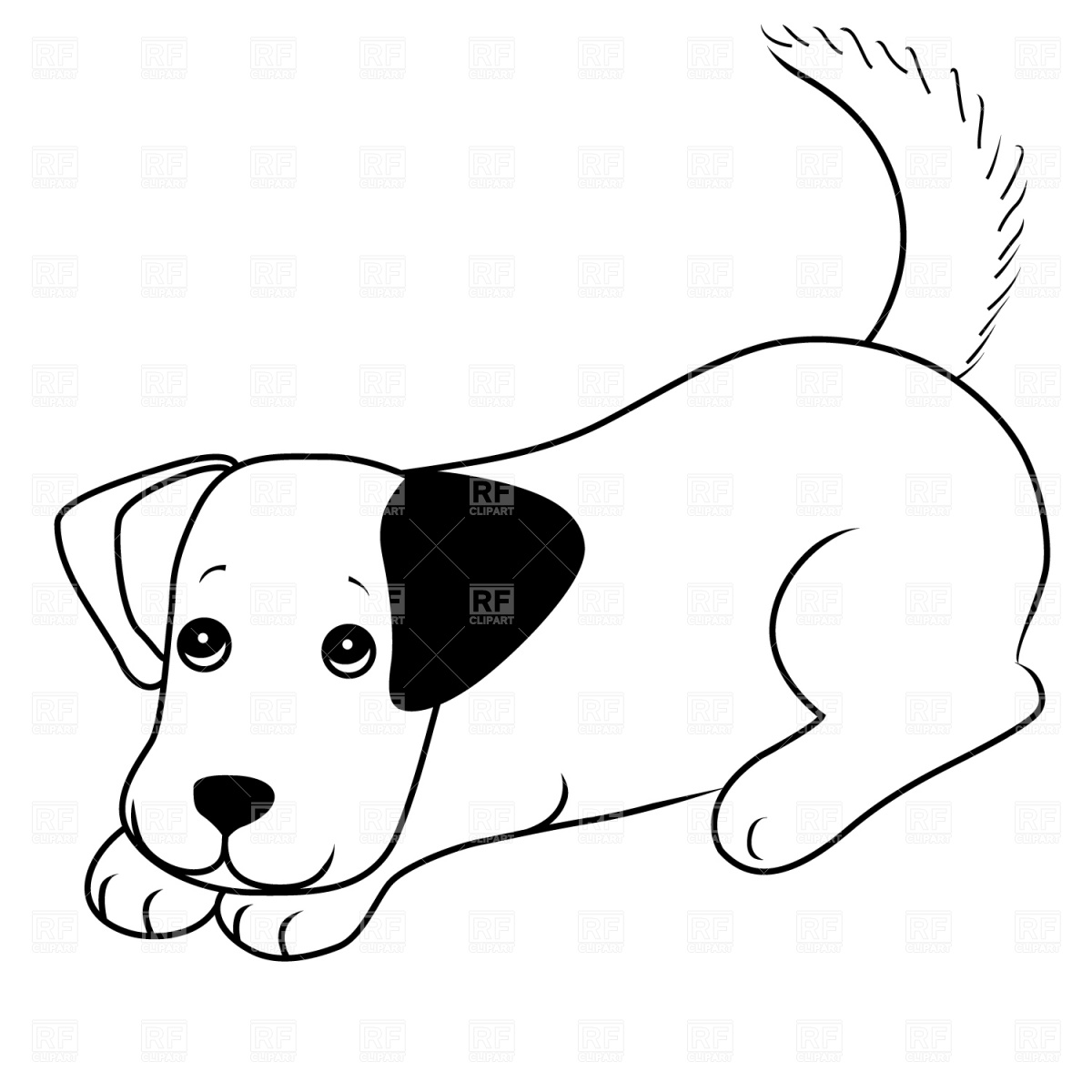 Cute happy dog clipart black and white svg black and white download Dog Pictures Free | Free download best Dog Pictures Free on ... svg black and white download