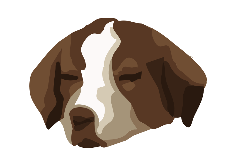 Anonomus clipart dog vector free library Free Clipart: Bored dog 01 | Anonymous vector free library