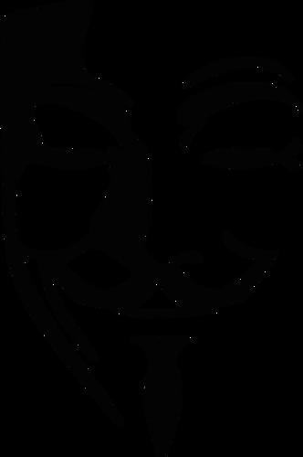 Anonymous mascara clipart clipart transparent Anonymous mask | Public domain vectors clipart transparent