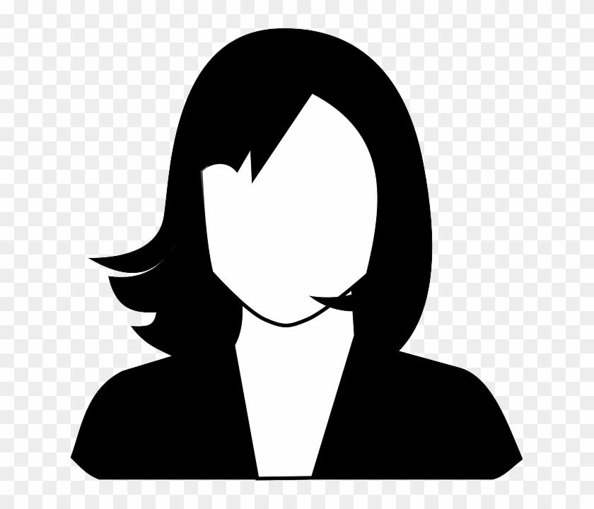 Girl profile clipart