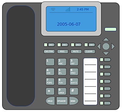 Answering machine clipart vector royalty free stock answering machine - /telephone/wall_and_desk_phones ... vector royalty free stock