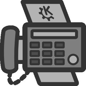 Answering machine clipart jpg free Fax Machine Clip Art at Clker.com - vector clip art online, royalty ... jpg free