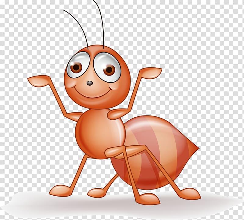 Ant illustration clipart jpg freeuse stock Brown ant illustration, Ant Insect Drawing Illustration, Ants ... jpg freeuse stock