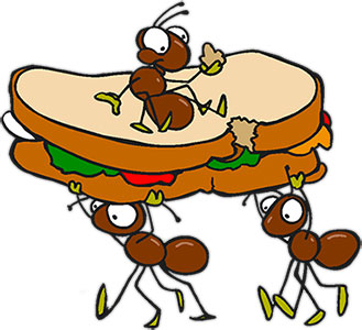 Ant picnic food clipart picture royalty free library Picnic Food Clipart | Free download best Picnic Food Clipart on ... picture royalty free library