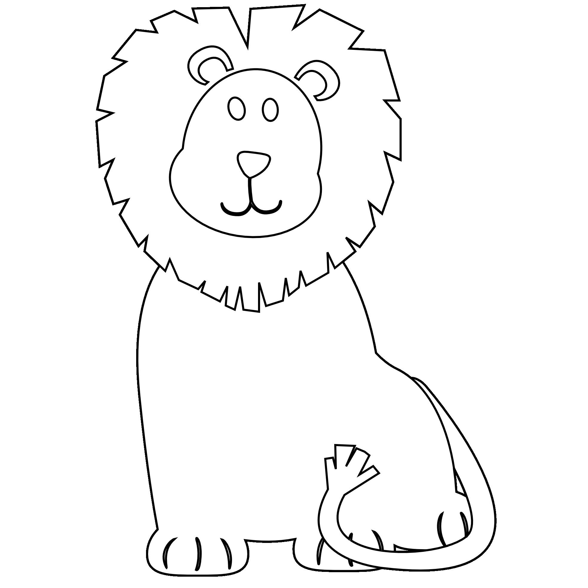 Antarctica book clipart black and white image library download Lion Clipart Black And White | Clipart Panda - Free Clipart Images image library download