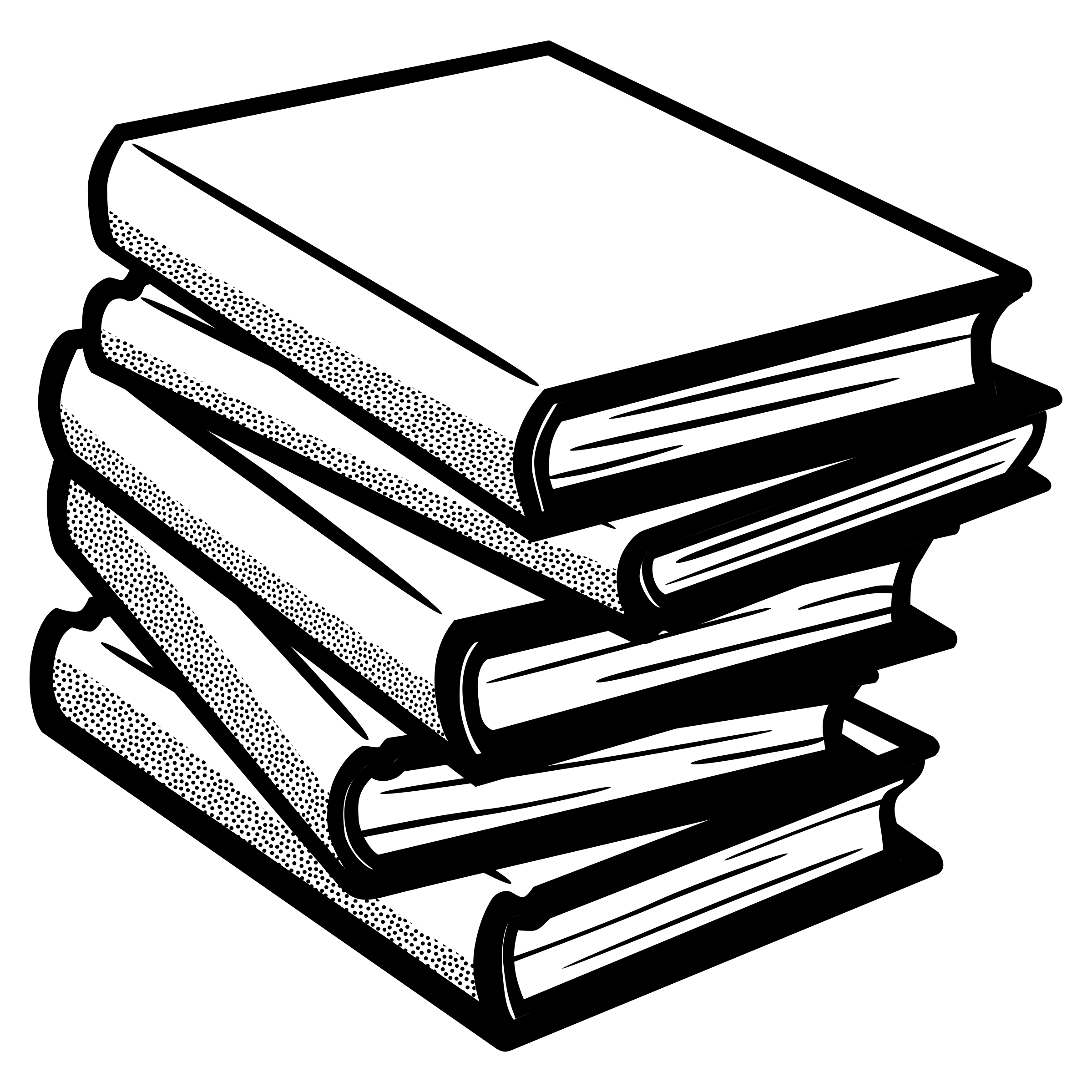 Book stack clipart black and white clip art freeuse library books - lineart by @frankes, line art books, on @openclipart | White ... clip art freeuse library