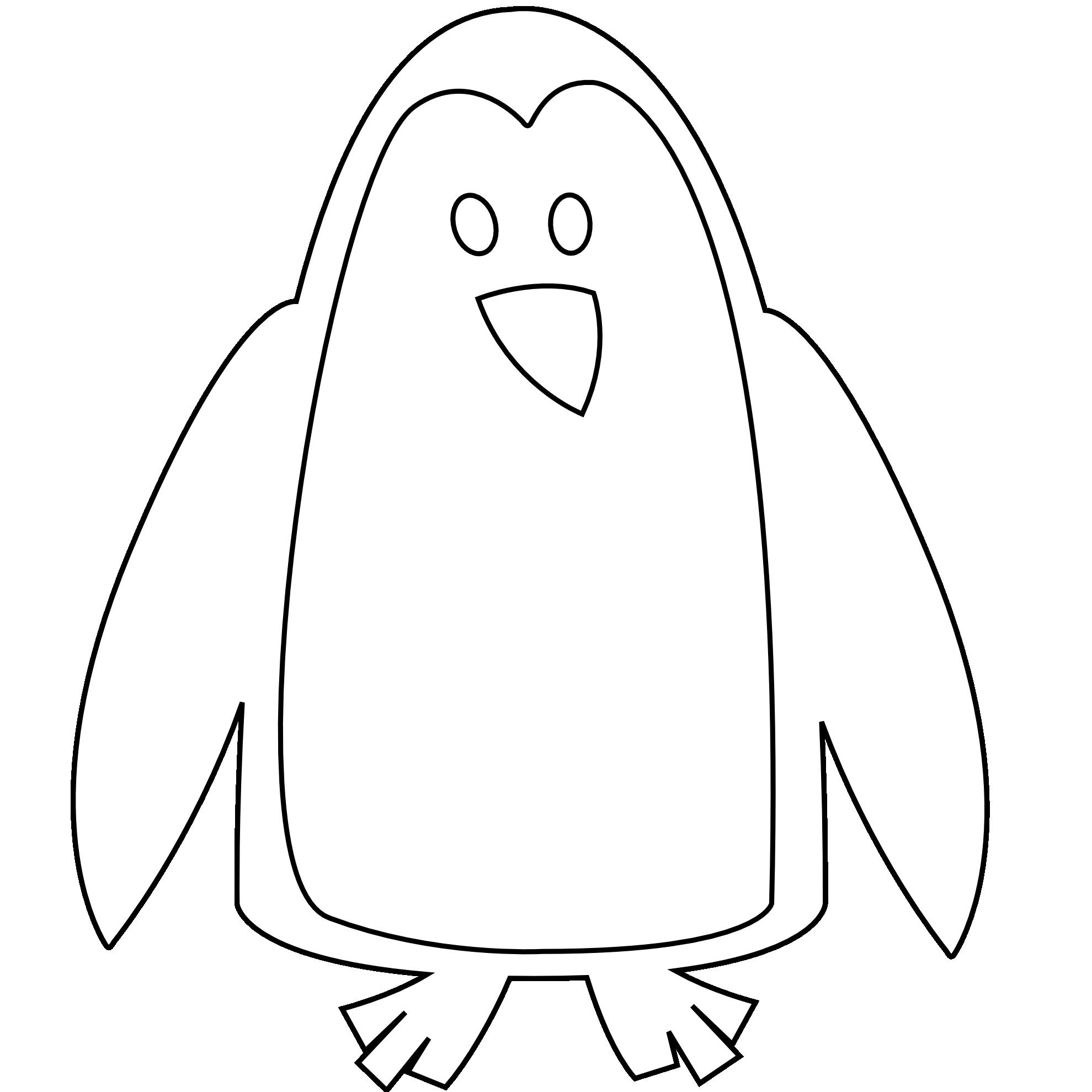 Antarctica book clipart black and white image black and white download Penguin Clipart Black And White | Clipart Panda - Free Clipart Images image black and white download