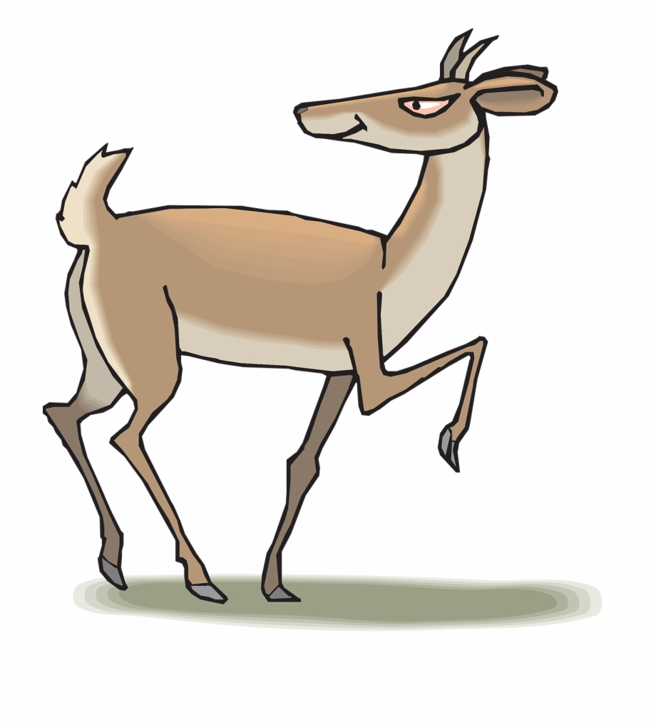 Antelope clipart png png library download Antelope Cartoon Png Free PNG Images & Clipart Download #2415653 ... png library download