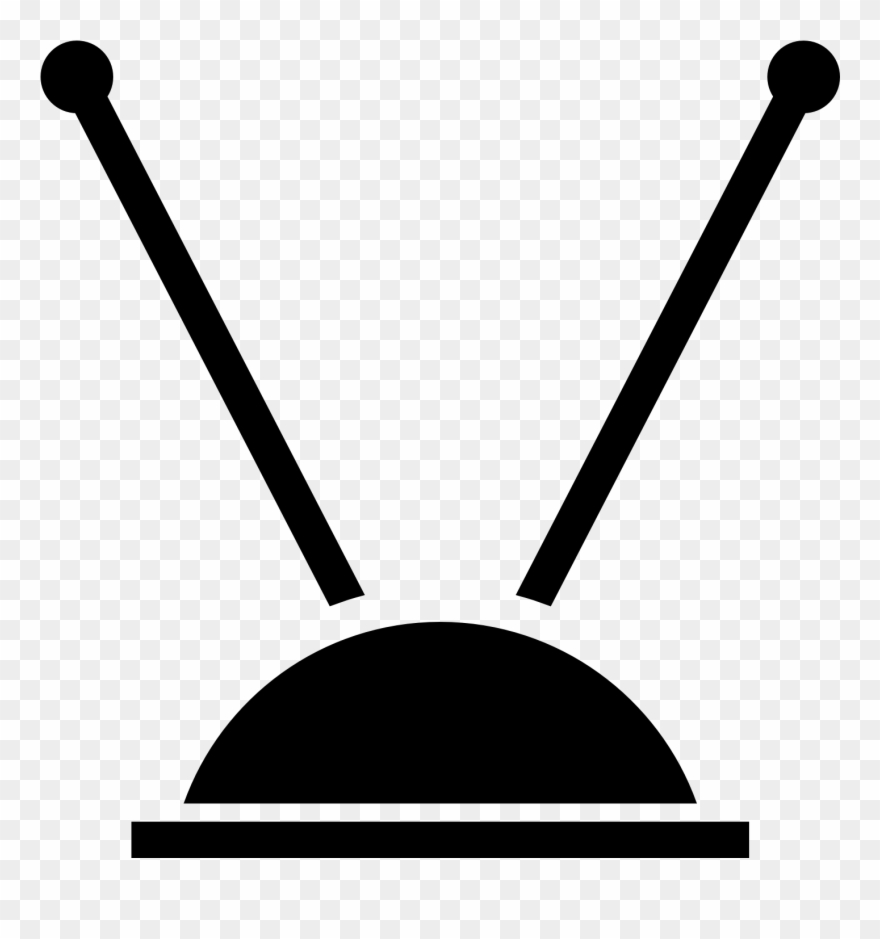 Antenna clipart jpg transparent library Tv Clipart Tv Antenna - Tv Antenna Clip Art - Png Download (#289871 ... jpg transparent library