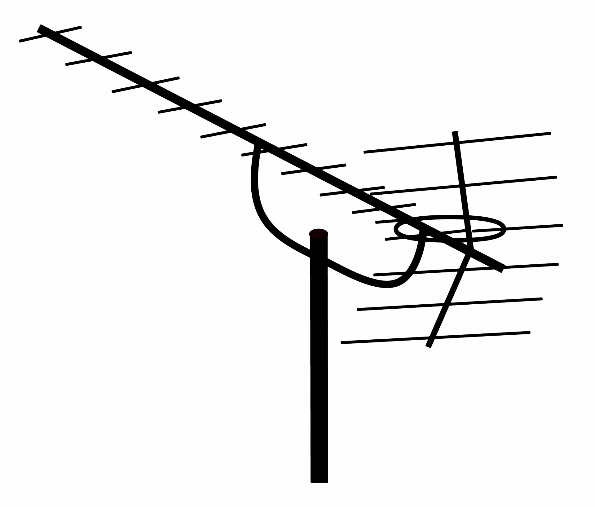 Antenna roof clipart picture library stock Antenna,clipart,tv,television antenna,free pictures - free photo ... picture library stock