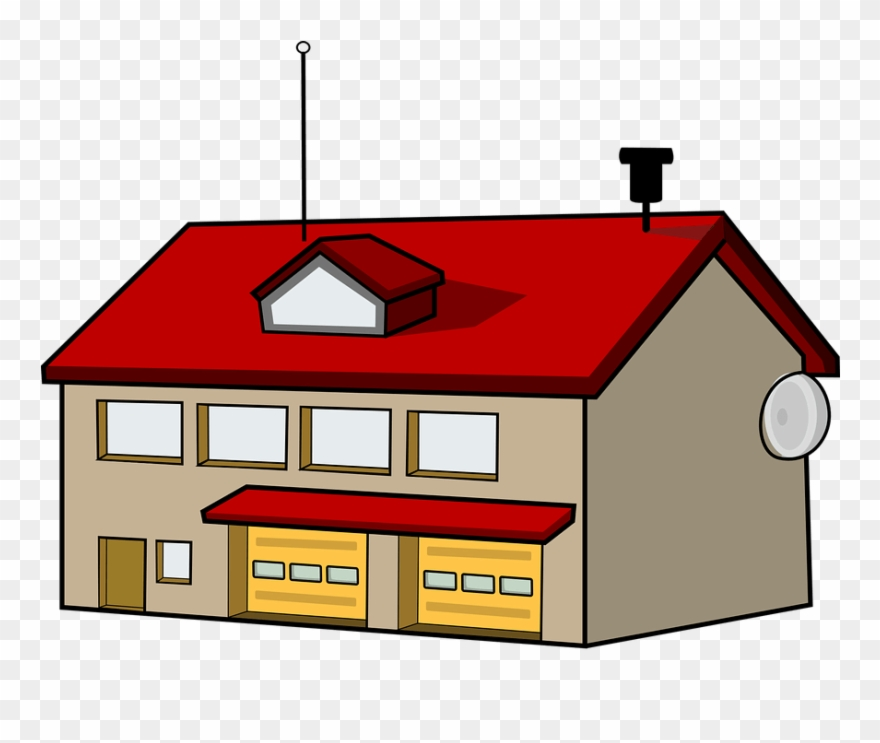Antenna roof clipart transparent stock Picture Fire Station Antenna Panda - Fire Department Clipart - Png ... transparent stock