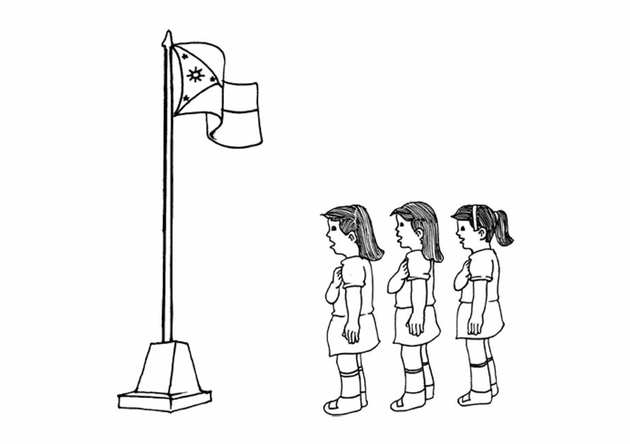 Anthem clipart svg transparent stock Girls Singing - Singing Philippine National Anthem Drawing Free PNG ... svg transparent stock