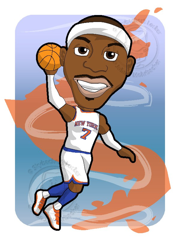 Anthony clipart cartoon life freeuse stock Free Knicks Basketball Cliparts, Download Free Clip Art, Free Clip ... freeuse stock
