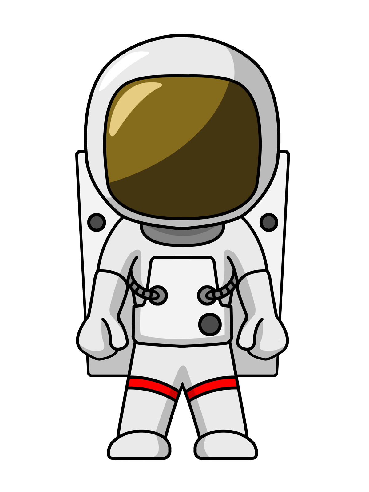 Anthony clipart cartoon life image freeuse Astronaut Clip Art Images Free For Commercial Use | 3D print ideas ... image freeuse