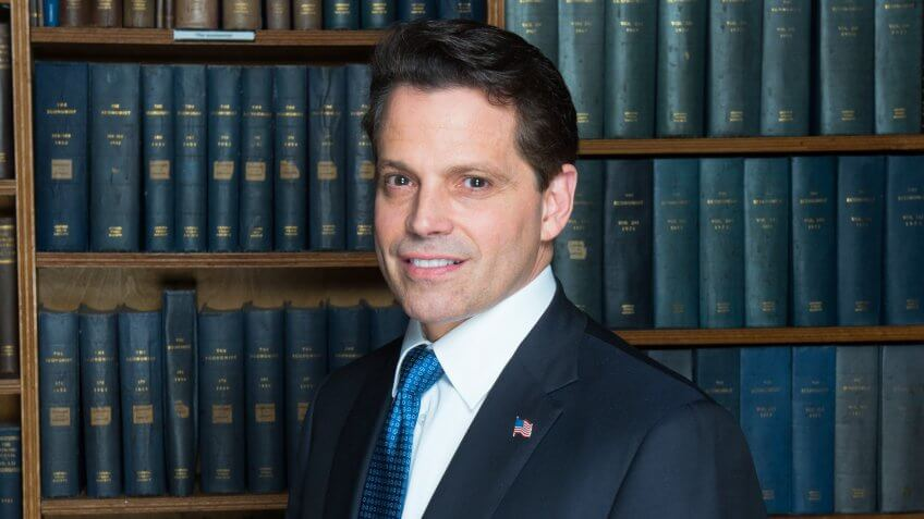 Anthony scaramucci clipart clip transparent Trump\'s Former Communications Director Shares 7 Money Lessons for ... clip transparent