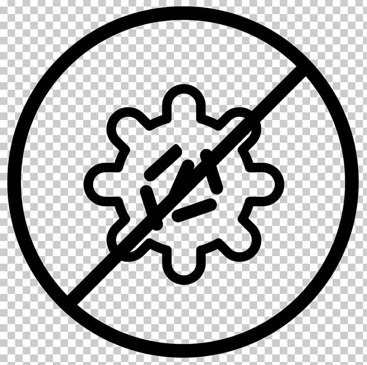 Anti bacteria clipart svg royalty free download Computer Icons PNG, Clipart, Anti Bacteria, Area, Black And White ... svg royalty free download