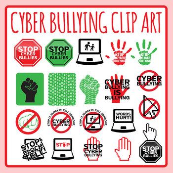 Anti bullying symbol clipart clip free download Bullying Clipart Worksheets & Teaching Resources | TpT clip free download