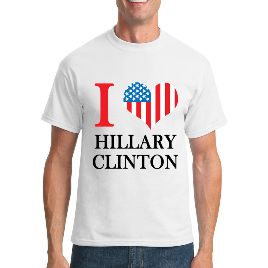 Anti hiliary shirt clipart vector library download Pro Hillary I love Hillary Clinton vector library download