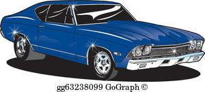 Antic car clipart