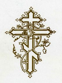 Antiochian cross clipart clipart free library Byzantine Cross, beautiful design and anybody can pull it off ... clipart free library