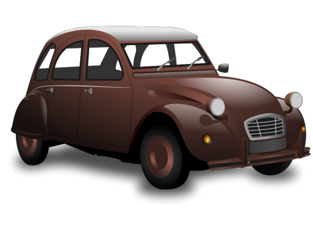 Antique car clipart picture black and white Classic Car Clipart 13 - 600 X 595 | carwad.net picture black and white