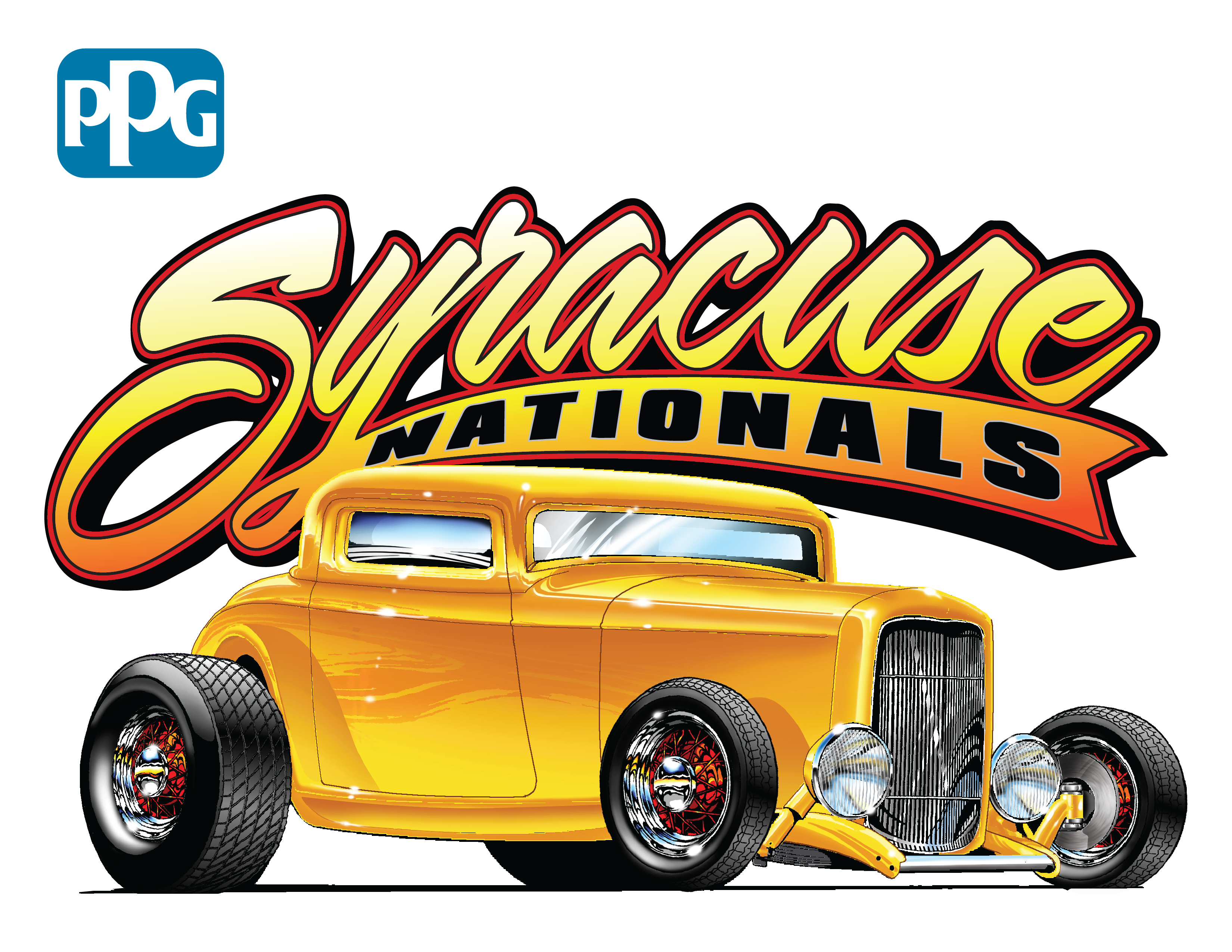 Antique car show clipart banner library download Syracuse Nationals banner library download