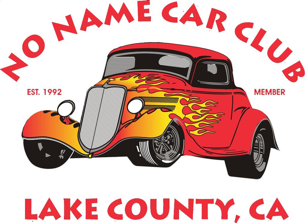 Antique car show clipart banner black and white download The No Name Car Club of Lake County — Curbside Car Show Calendar banner black and white download