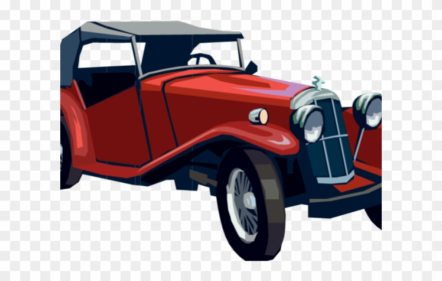 Vintage car clipart images banner black and white download Classic Car Clipart 1940s Car - Free Classic Car Clipart - Png ... banner black and white download