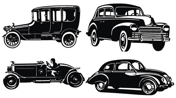Antique cars clipart black and white stock Antique cars clipart » Clipart Portal black and white stock