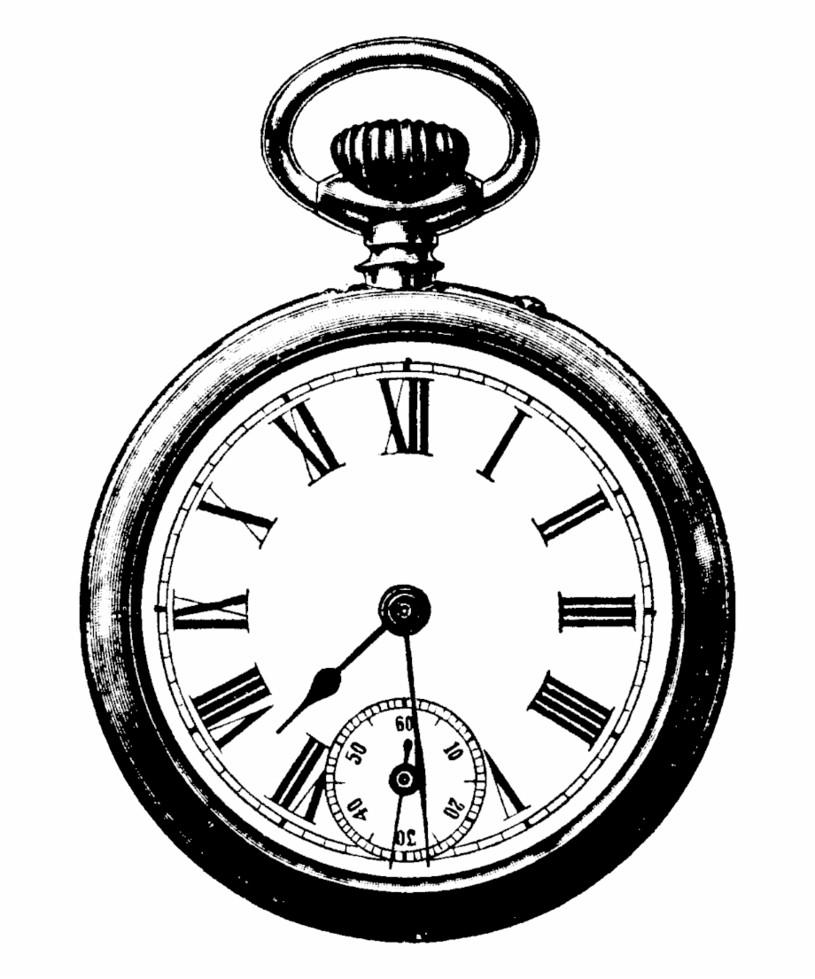 Antique clock clipart jpg black and white download Vintage Clock Png Clipart - Alice In Wonderland Clock Png {#87792 ... jpg black and white download