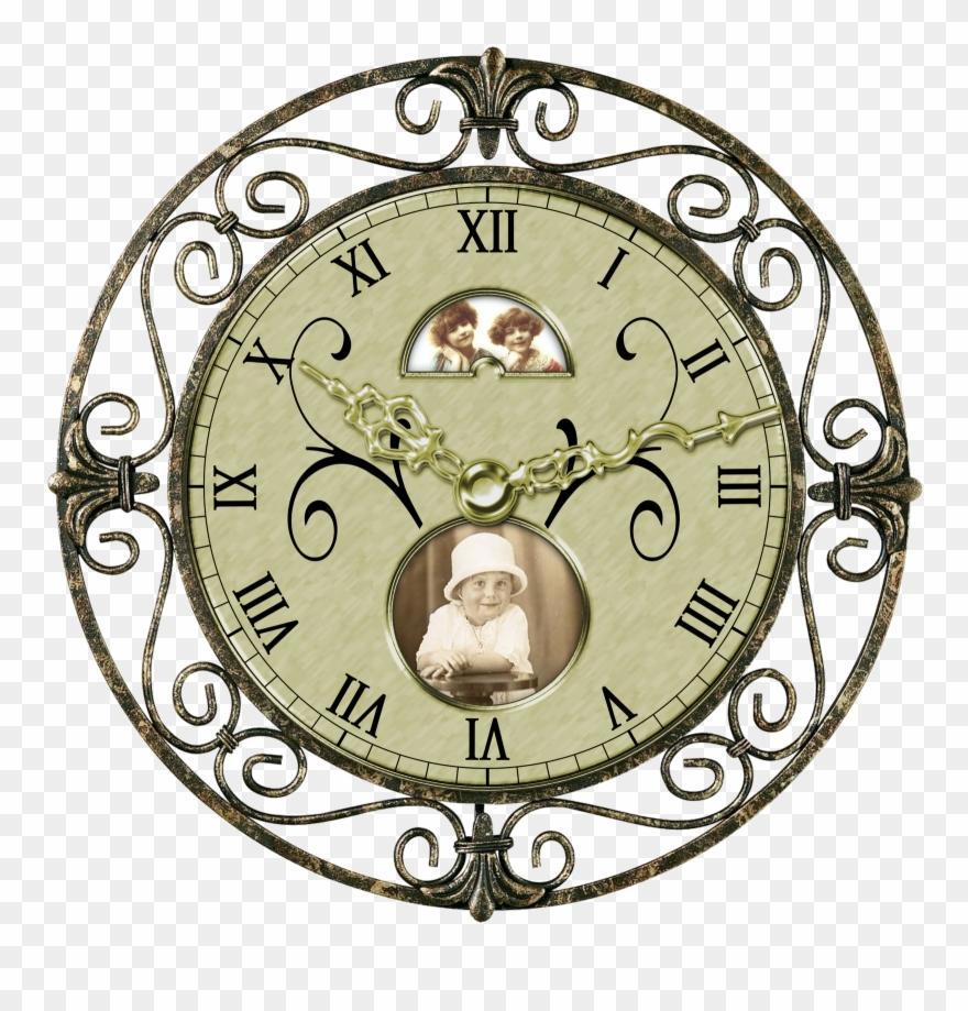 Antique clocks clipart banner library download Antique Clock Clip Art N4 - Transparent Vintage Clock Png (#181999 ... banner library download