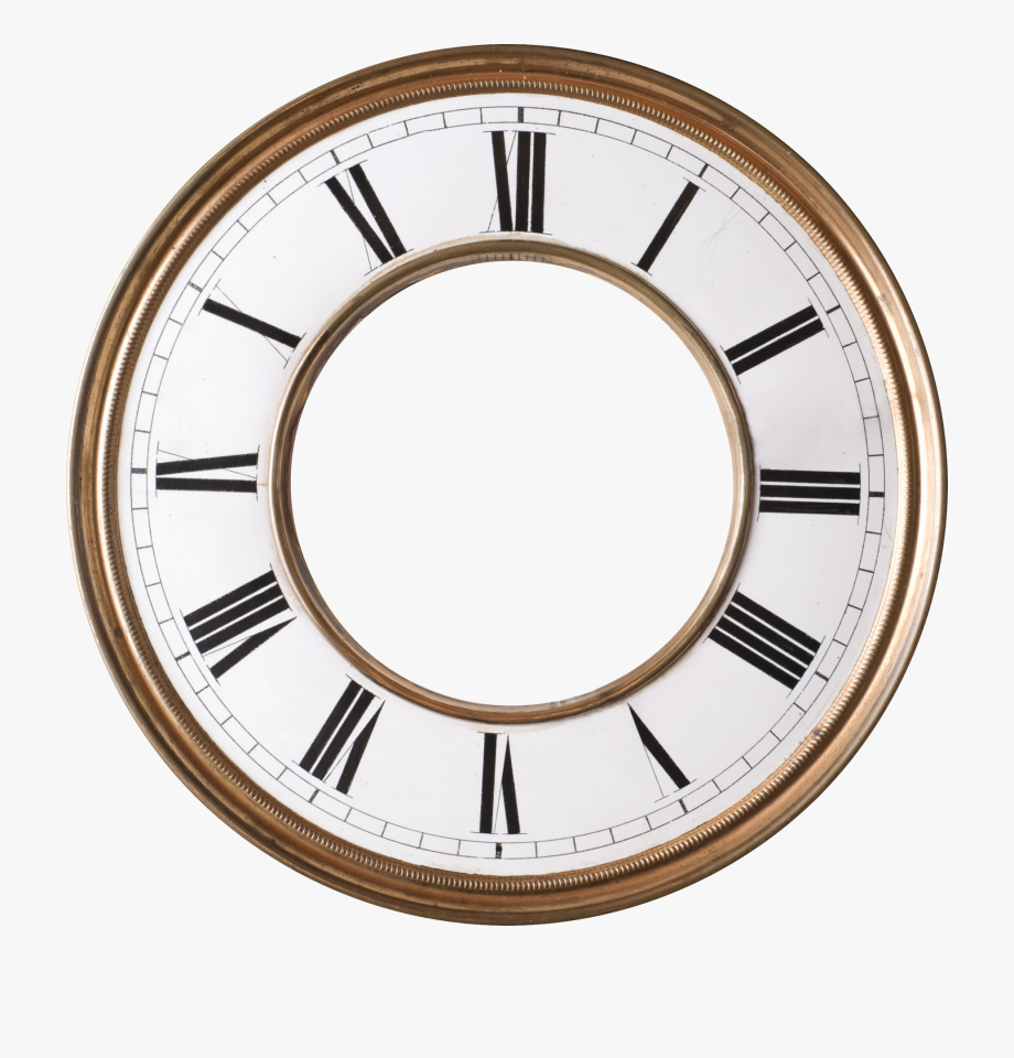 Antique clocks clipart graphic stock Antique Clock Face Clipart , Png Download - Watch Faces No Hands ... graphic stock