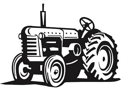 Antique farm machinary clipart clip black and white Free Antique Tractors Cliparts, Download Free Clip Art, Free Clip ... clip black and white