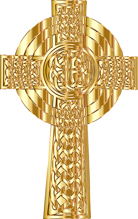 Antique gold christian cross clipart png jpg download jesus-1327984_960_720.png (455×720) | Motyw Krzyża / Decorative ... jpg download