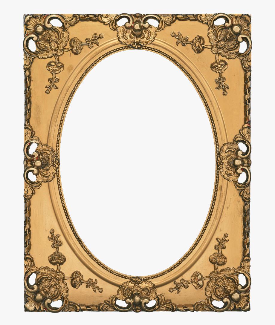 Antique gold frame clipart download Photo Frame Album Printables And Clip Art - Antique Picture Frame ... download