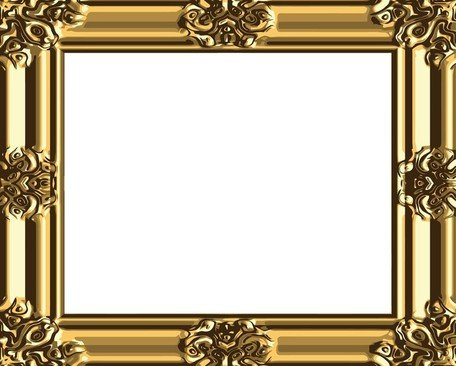 Antique gold frame clipart graphic free library Free Antique Gold Frame 03 Clipart and Vector Graphics - Clipart.me graphic free library