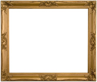 Antique gold frame clipart clip royalty free stock Antique Ornate Gold Frame | Clipart Panda - Free Clipart Images clip royalty free stock