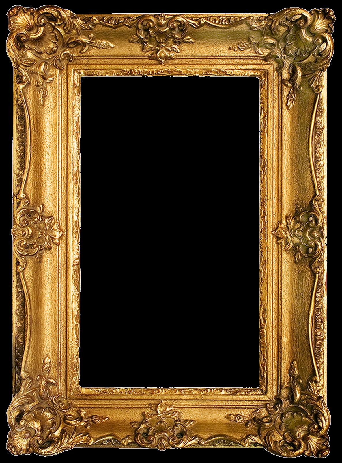 Antique gold frame clipart clip freeuse Vintage Gold Gilded Frames Free Printables! | printables | Painting ... clip freeuse
