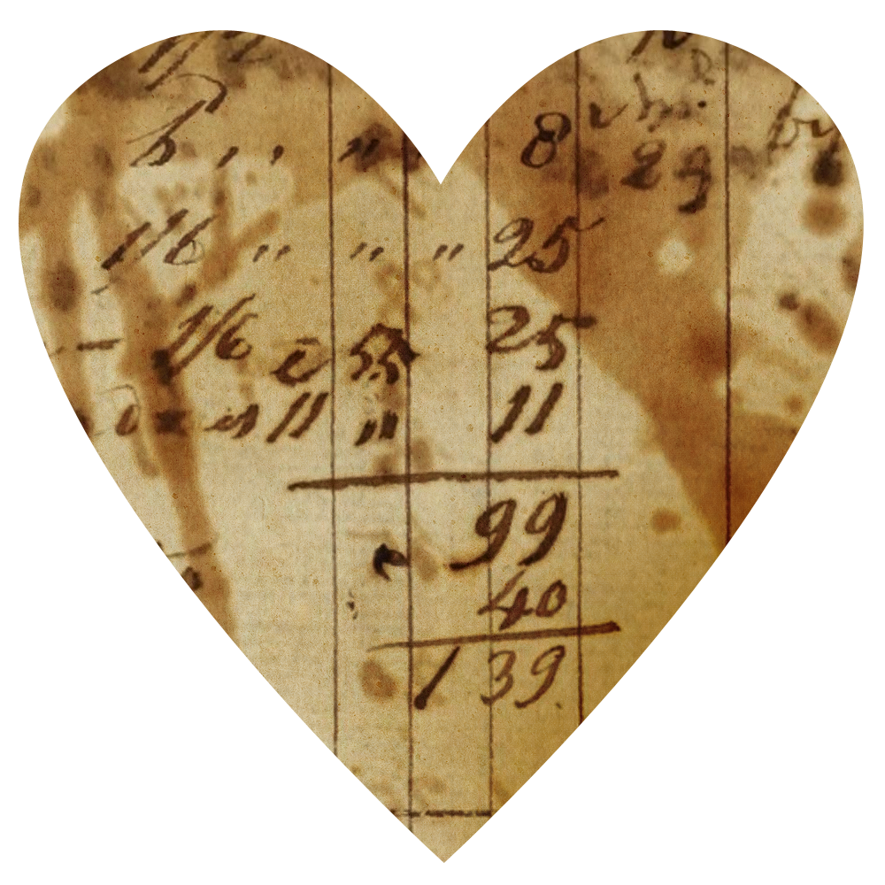 Antique heart clipart graphic library stock Vintage Ledger Paper Hearts | Call Me Victorian graphic library stock