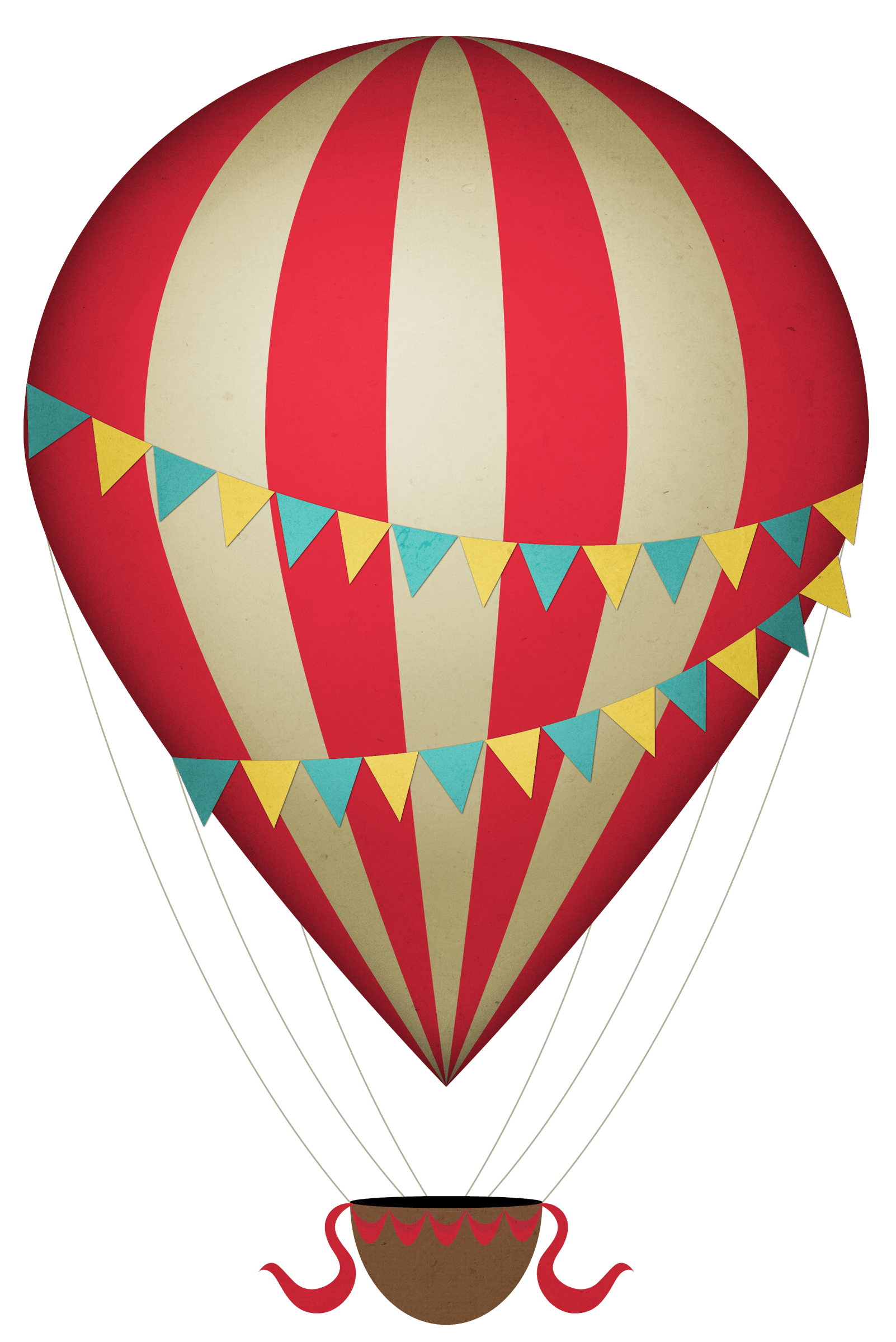 Clipart hot air balloons jpg download Vintage Clipart Hot Air Balloon transparent PNG - StickPNG jpg download