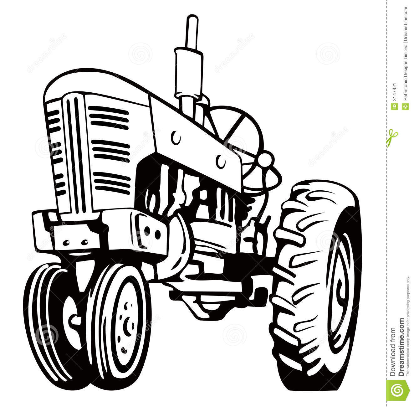 Antique john deere tractor clipart png freeuse library John Deere Tractor Clipart | Free download best John Deere Tractor ... png freeuse library