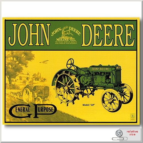 Antique john deere tractor clipart vector royalty free 7 Vintage John Deere Posters and Signs | John Deere MachineFinder ... vector royalty free