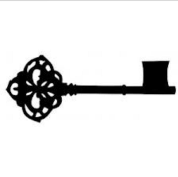 Antique keys clipart