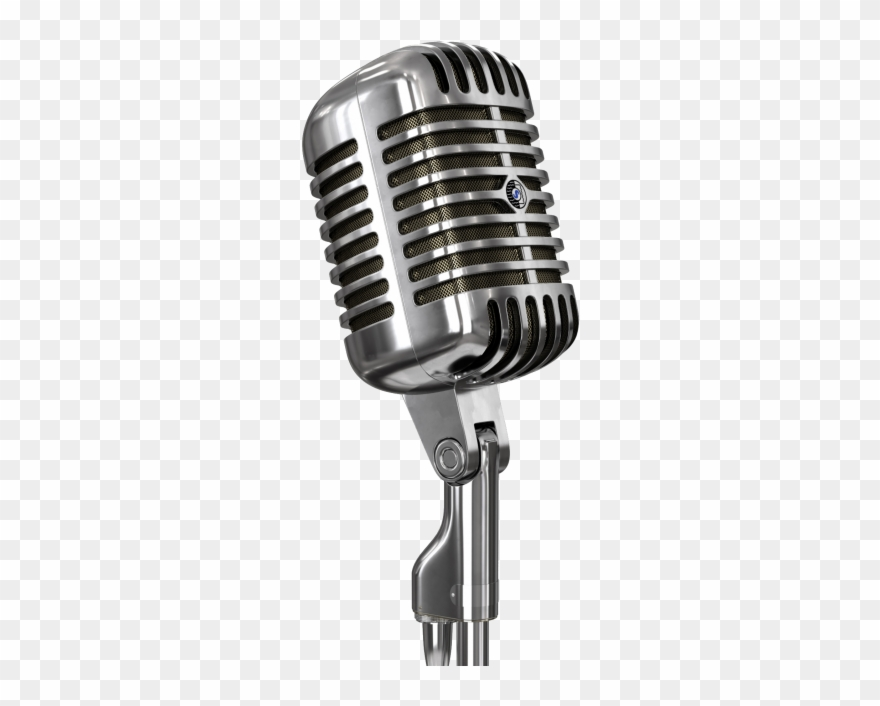 Antique microphone clipart banner black and white stock Old Microphone - Singer Microphone Png Clipart (#3720888) - PinClipart banner black and white stock