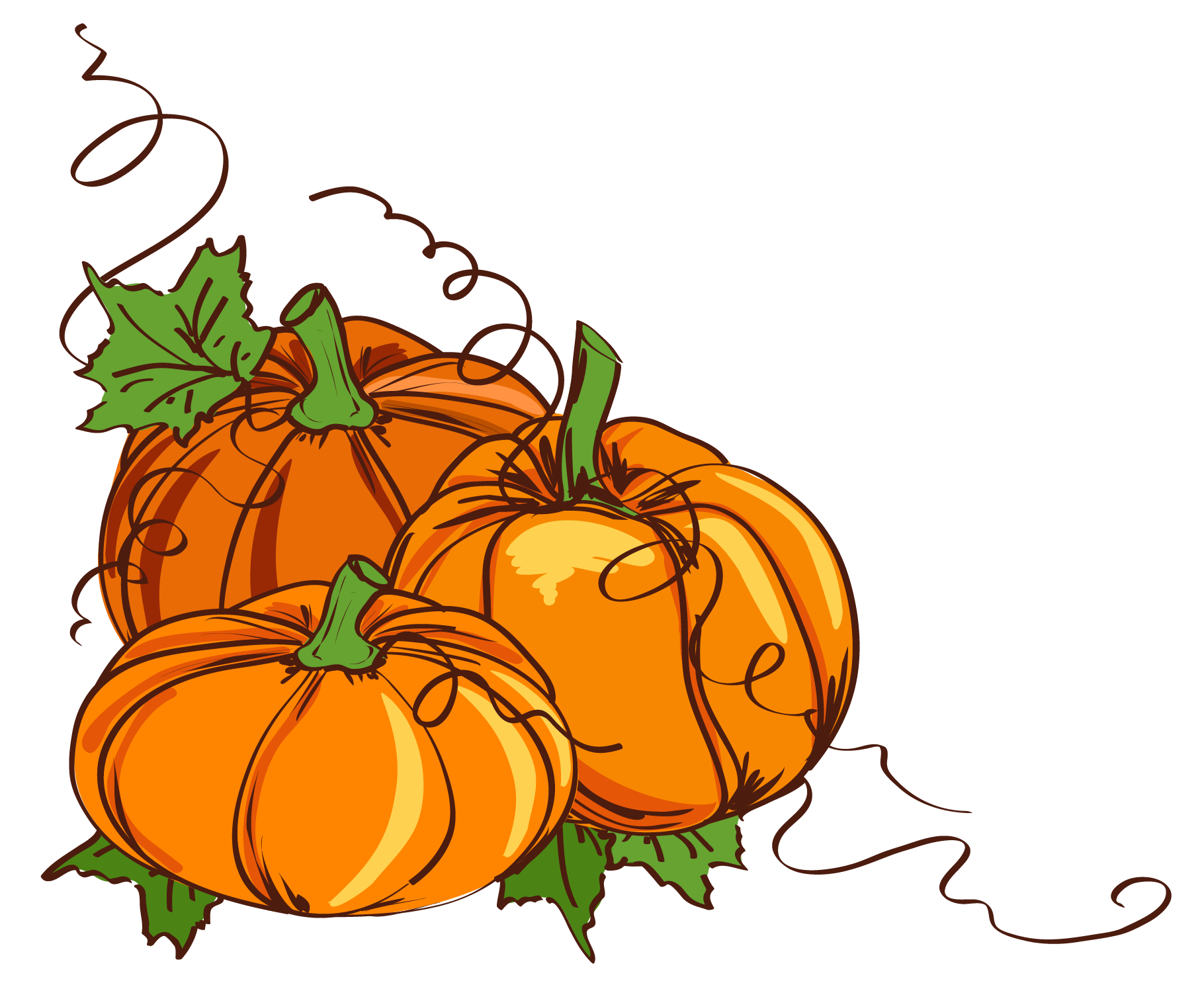 One pumpkin clipart svg freeuse download Thanksgiving Pumpkin Clipart at GetDrawings.com | Free for personal ... svg freeuse download