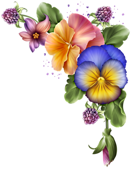 Antique purple flower clipart picture Resultado de imagen de hermosos separadores | Png | Pinterest ... picture