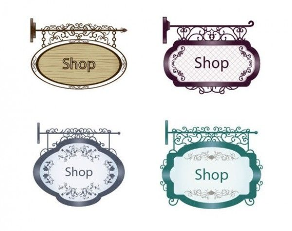 Antique shop sign clipart vector transparent library Pin by Merrirose Market on Signage | Vector free, Graphic design art ... vector transparent library