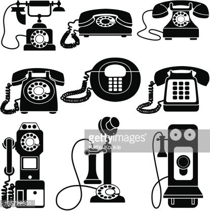 Old fashioned phone clipart svg transparent download old fashioned telephone clipart - Google Search | crafts | Vintage ... svg transparent download